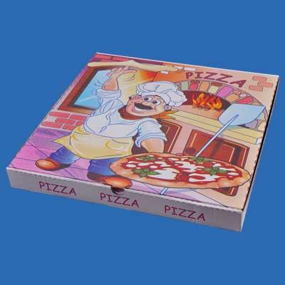 Scatolificio Martinelli Srl: scatole pizza prodotte con materie prime di alta qualità, carte di pura cellulosa, senza contenuti di macero e inchiostri a base d'acqua senza metalli pesanti